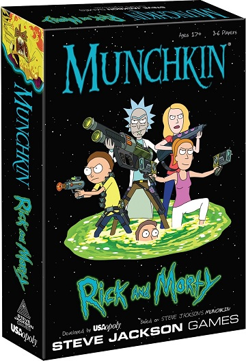 Munchkin: Rick And Morty [DAMAGED]