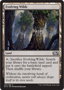 Magic 2015 Core Set 243: Evolving Wilds