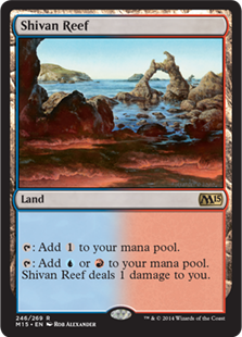 Magic 2015 Core Set 246: Shivan Reef