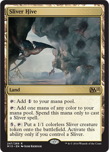 Magic 2015 Core Set 247: Sliver Hive