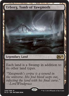 Magic 2015 Core Set 248: Urborg, Tomb of Yawgmoth