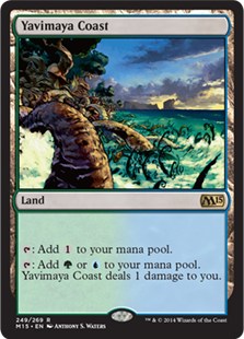 Magic 2015 Core Set 249: Yavimaya Coast