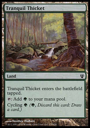 Magic: Archenemy 135: Tranquil Thicket