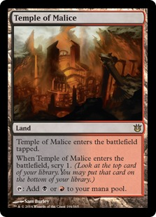 Magic: Born of the Gods 164: Temple of Malice