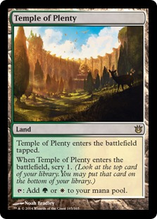 Magic: Born of the Gods 165: Temple of Plenty