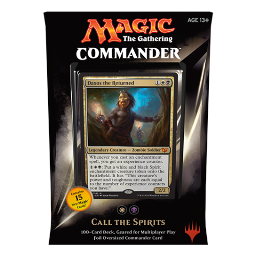 Magic: Commander 2015- Call the Spirits