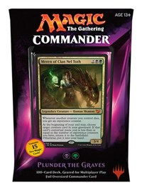Magic: Commander 2015- Plunder the Graves