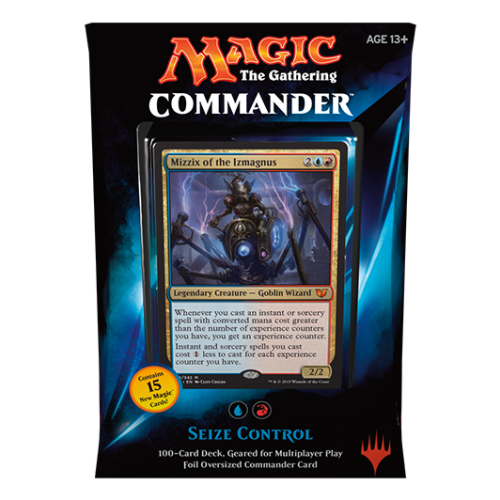 Magic: Commander 2015- Seize Control