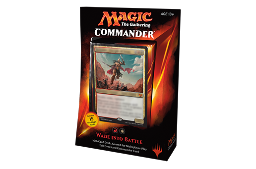Magic: Commander 2015- Wade into Battle
