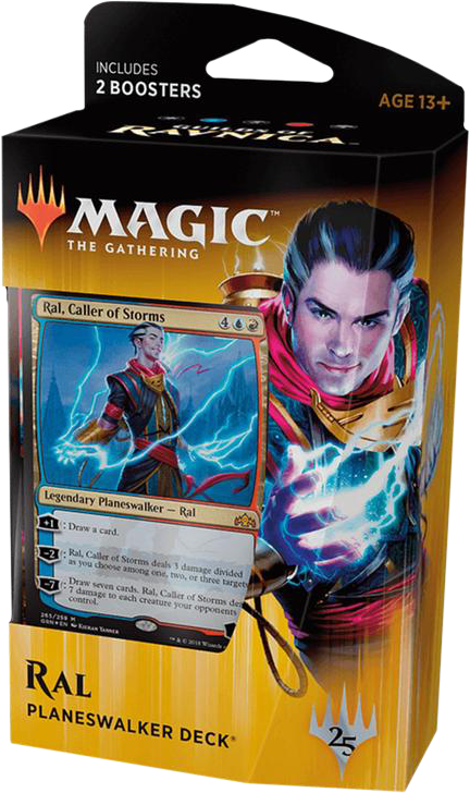Magic: Guilds of Ravnica: Planeswalker Deck - Ral: Caller of Storms