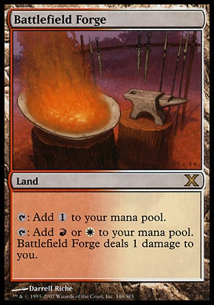 Magic: Tenth Edition 348: Battlefield Forge