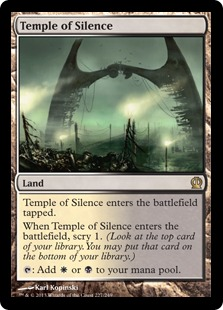 Magic: Theros 227: Temple of Silence [FOIL]