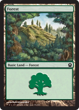 Magic: Theros 246: Forest (#246)