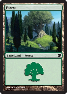 Magic: Theros 247: Forest (#247)