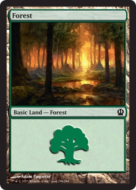 Magic: Theros 248: Forest (#248)