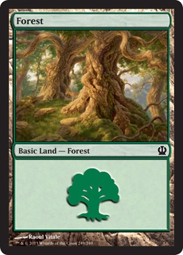 Magic: Theros 249: Forest (#249)