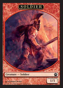 Magic: Theros 251: Soldier 1 1/1