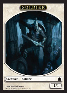 Magic: Theros 252: Soldier 2 1/1