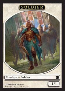 Magic: Theros 256: Soldier 3 1/1