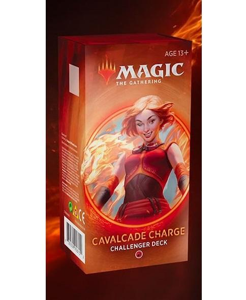 Magic the Gathering Challenger Decks 2020: CAVALCADE CHARGE