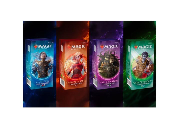 Magic the Gathering Challenger Decks 2020: Set of 4