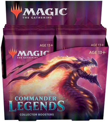 Magic the Gathering: Commander Legends: Collector Booster