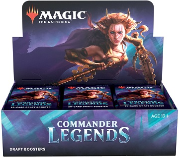Magic the Gathering: Commander Legends: Draft Booster
