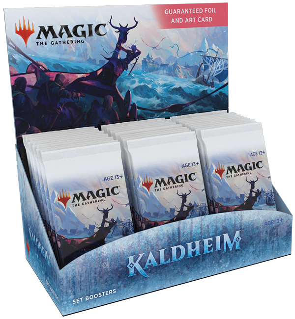 Magic the Gathering: Kaldheim: Set Booster Box