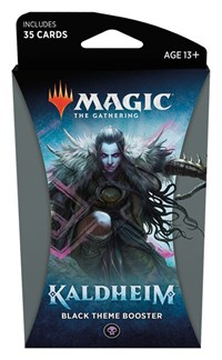 Magic the Gathering: Kaldheim: Theme Booster - Black