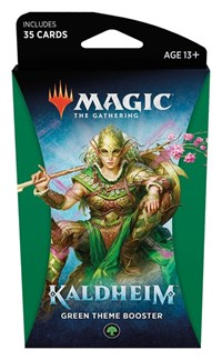 Magic the Gathering: Kaldheim: Theme Booster - Green