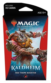 Magic the Gathering: Kaldheim: Theme Booster - Red