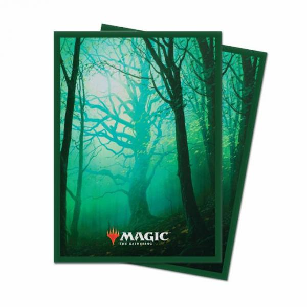 Magic the Gathering Unstable: Card Sleeves 100ct - Forest
