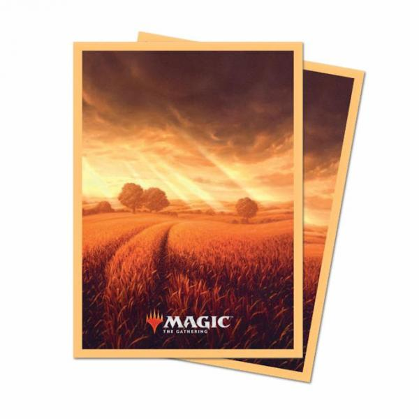 Magic the Gathering Unstable: Card Sleeves 100ct - Plains