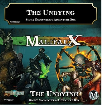Malifaux 2E: The Undying Story Encounter & Adventure Box