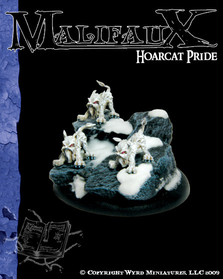 Malifaux: Arcanists: Hoarcat Pride (3 pack) [SALE]