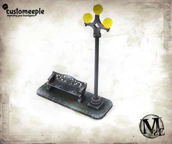Malifaux: Dollhouse Bench