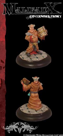 Malifaux: Guild: Governors Proxy [SALE]