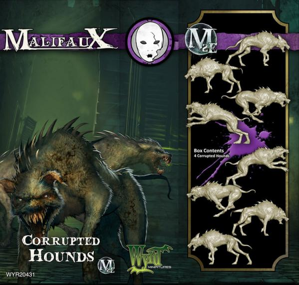 Malifaux: Neverborn: Corrupted Hounds