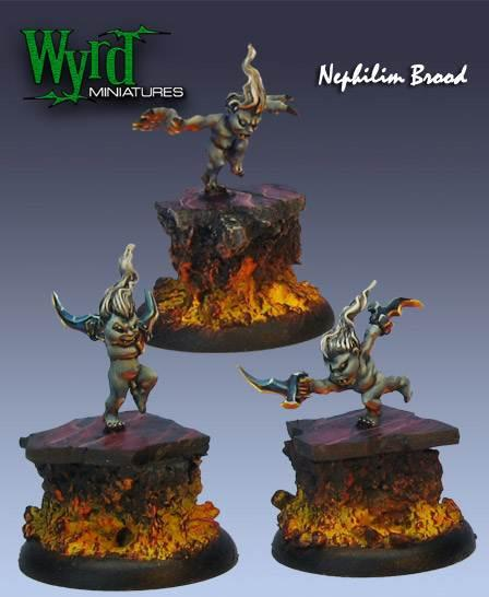 Malifaux: Neverborn: Liliths Brood, Terror Tot Nephilim [SALE]