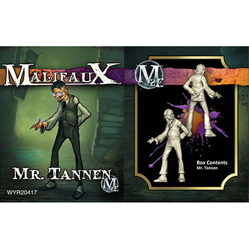 Malifaux: Neverborn: Mr. Tannen (M2E)