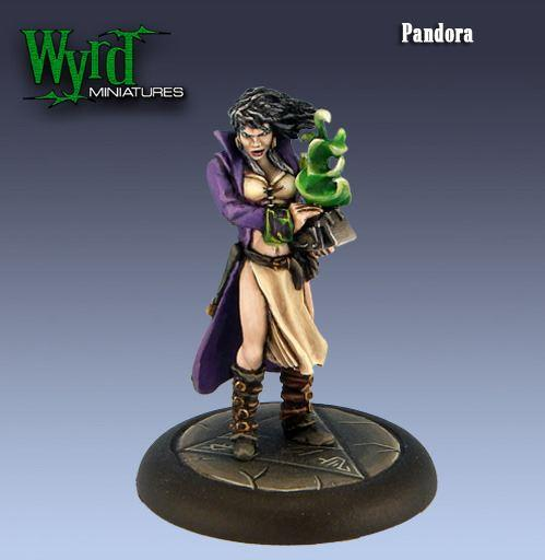 Malifaux: Neverborn: Pandora - Bringer of Woe [SALE]