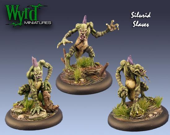 Malifaux: Neverborn: Silurid Slaves [SALE]
