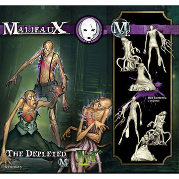 Malifaux: Neverborn: The Depleted M2E (Plastic)