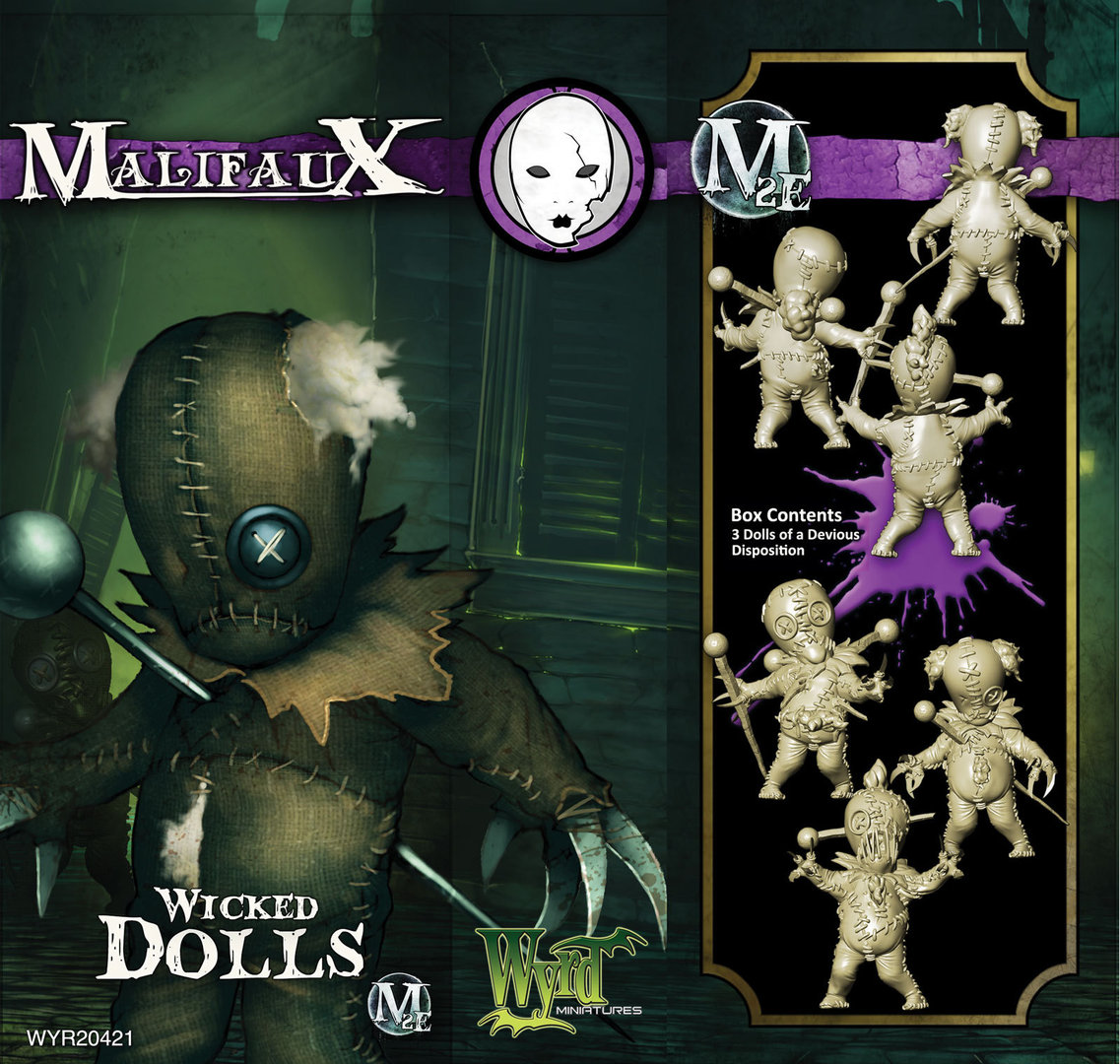 Malifaux: Neverborn: Wicked Doll