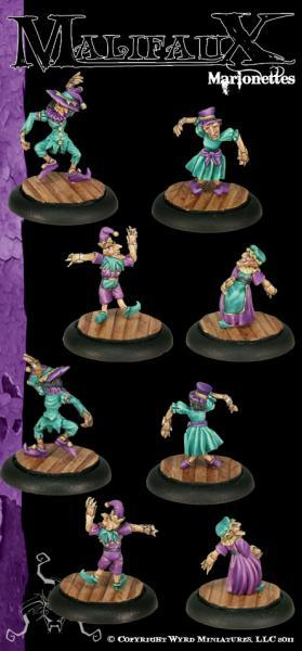 Malifaux: Neverborn: Marrionettes