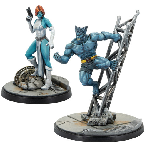 Marvel Crisis Protocol: Beast & Mystique Character Pack