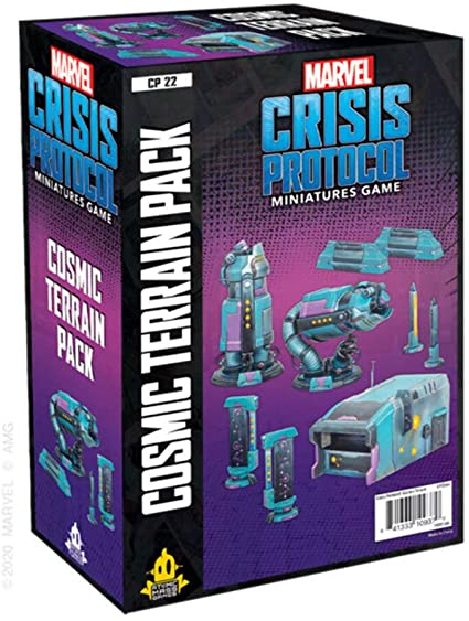 Marvel Crisis Protocol: Cosmic Terrain Pack [DAMAGED]