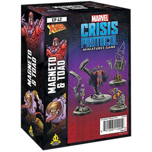 Marvel Crisis Protocol: Magneto & Toad Character Pack