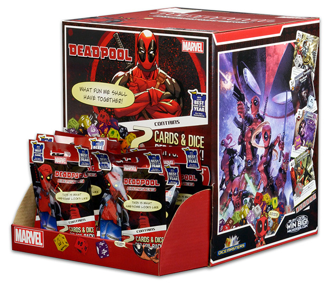 Marvel Dice Masters Deadpool: Foil Pack