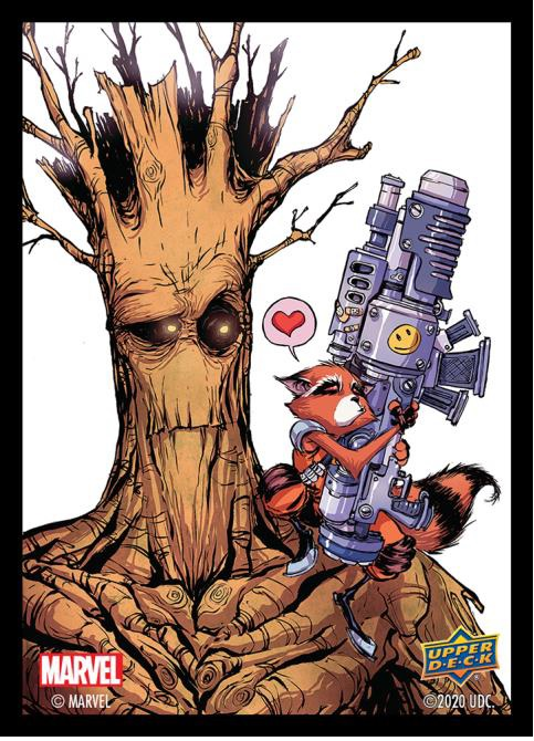 Marvel Sleeves: Rocket and Groot